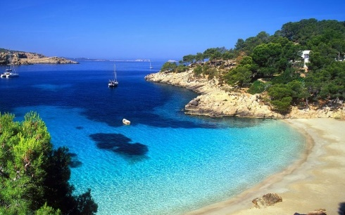 Ibiza's beautiful beaches are a real draw for many